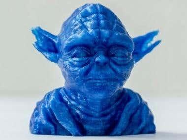 3D print ABS 6inch x 6inch x 6inch