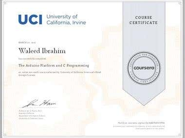 Arduino Platform and C programming