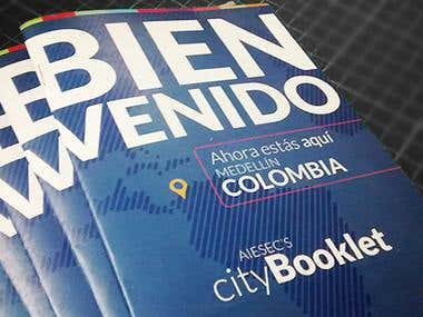 AIESEC's City Printed Booklet
