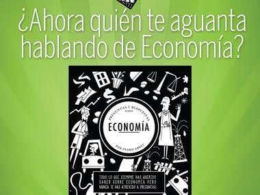 PUBLICIDAD GRÁFICA LIBRO DE MI AUTORÍA HECHO POR ENCARGO