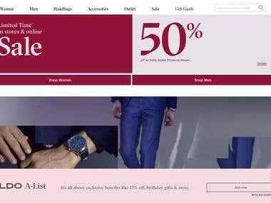 e-commerce portal!!!!http://www.aldoshoes.com/us/en_US
