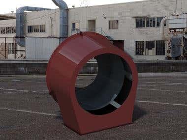 Industrial Fan Casing