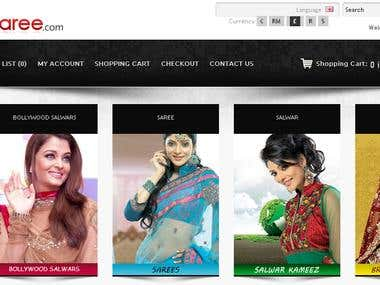 Dsaree.com - Your one stop online shop for all fashion India
