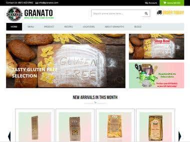 Granatos - Magento Project