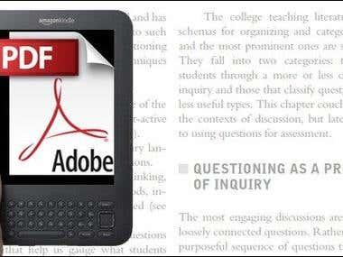 Covert Ebook to PDF