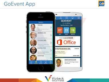 Event Agenda and Networking App