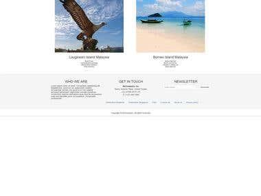 WEB FRONT END BOOTSTRAP DESIGN