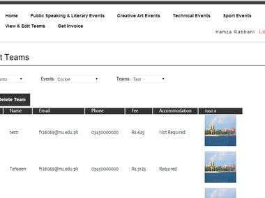 Event Registration & Management Portal