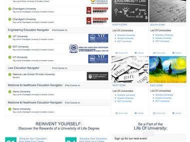 My University Place - University Listing Portal