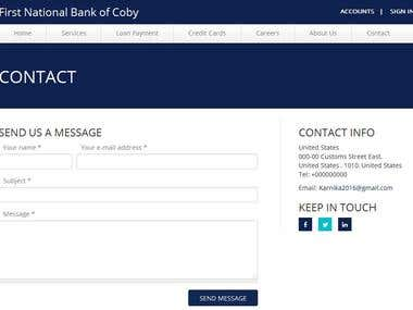 First National Bank of Coby