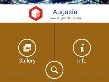 Aug Asia (Augumented Reality App)