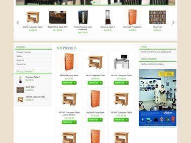 Furniture - Online Shopping Portal.