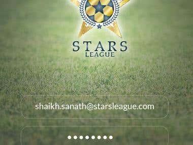 Soccer Information App - UI/UX