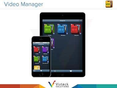 Video Manager for iPhone/Android