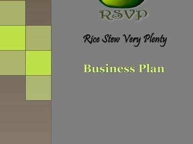 Business Plan Cover