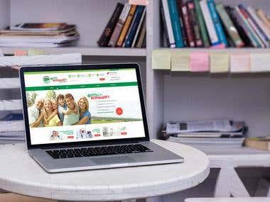 """E-commerce & web dev. """"Pharmacy"""""""