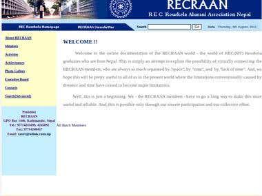 RECRAAN website