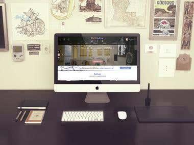 "Web design & Website dev. ""CinemaRoom"""