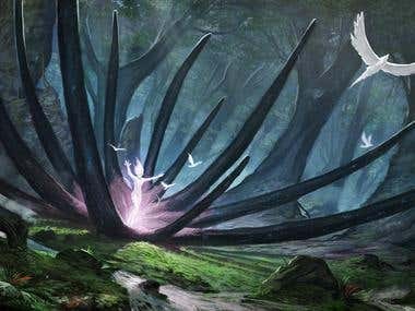 The carnivorous plant