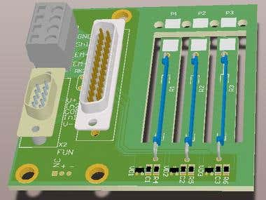 High Voltage Divider PCB [9000V DC Max]
