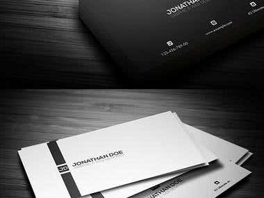 template pour business card