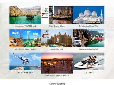 Web Development from scratch for Belvedere Travel