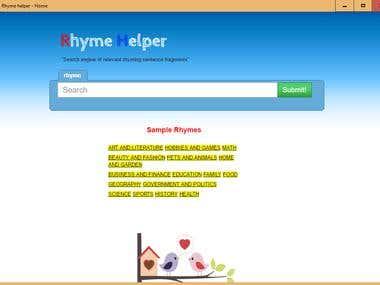 Responsive Website Landing Page