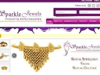 Sparkle Jewel MLM Portal