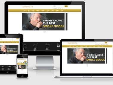 Hampsterz Website