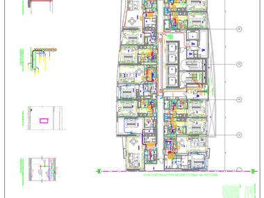 DAMAC HOTEL BUILDING POWER SYSTEM LAYOUT