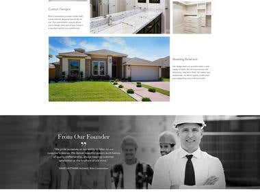 Website design for Brito Constructions