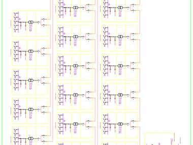 POWER SINGLE LINE DIAGRAM