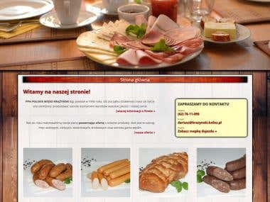 Polish meat - company website