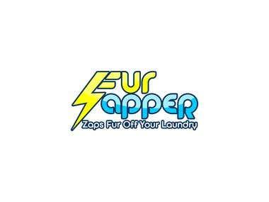 logo for   FUR ZAPER