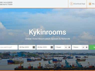 Hotel Reservation System and Network. kykinrooms.com
