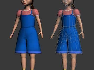 Dorothy Character Xbox Kinect ready