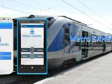 Metro SAHEL - Android App