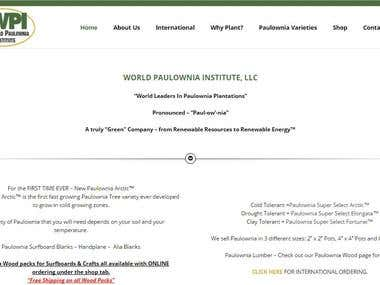 WORLD PAULOWNIA INSTITUTE, LLC