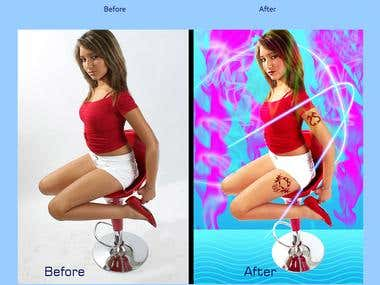 Image editing & Background Removl