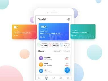 Budget Tracking app design