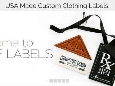 CBF Label  : USA Made Custom Clothing Labels