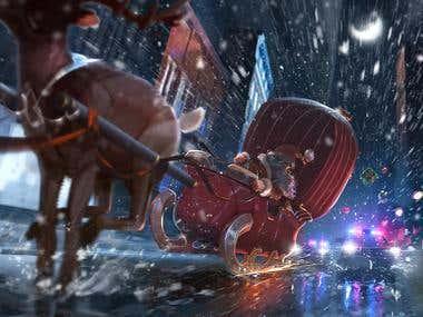 Christmas Illustration~