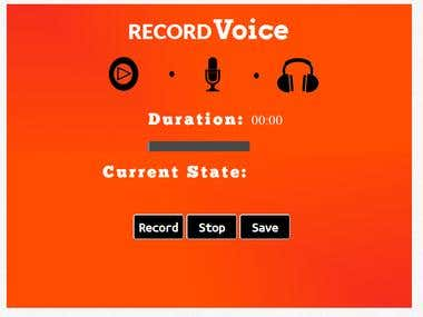 Record Voice