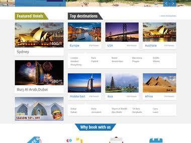 Hotel Booking website