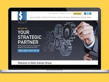 Website for  a Business Advisory Group