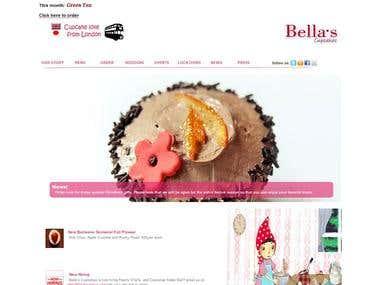 Bella's Cupcakes    www.bellas-tokyo.com