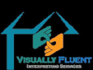 Visually Fluent Interpreting Services Logo