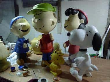 Peanuts Brand Activations - 3d Characters