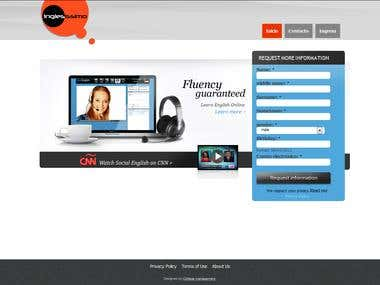 Online english classes tele conferencing site