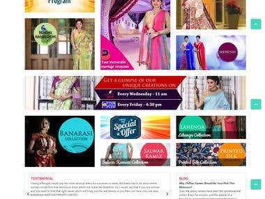 E-Commerce for Sarees